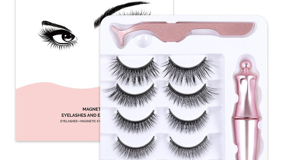 Magnetic Eyelash and Tweezer Set