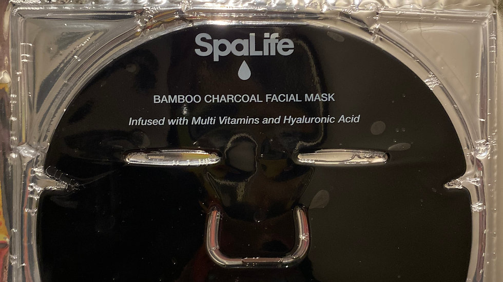 SpaLife Bamboo Charcoal Facial Mask