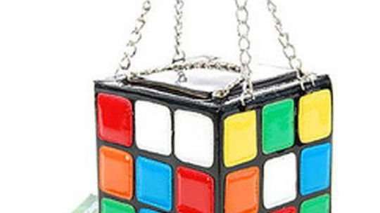Rubix Cube Purse
