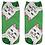 Thumbnail: Women Low Cut Ankle Socks Funny Aliens 3D Printing Cotton Cartoon Printed Sock