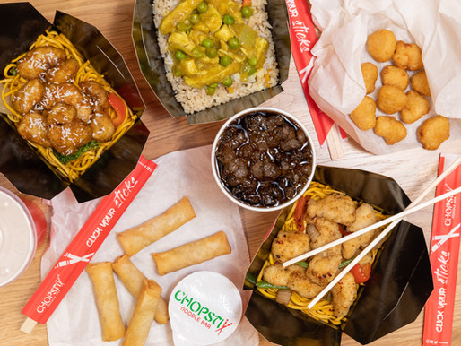 100 FREE MEDIUM BOXES AT CHOPSTIX LEICESTER LAUNCH!