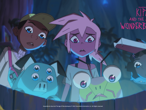 Win a 4K TV and tech bundle with Dreamworks' Kipo and the Age of Wonderbeasts!