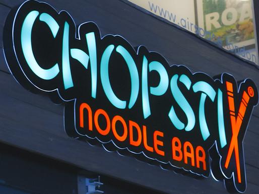 Noodle bar chain Chopstix readies trio of pre-Christmas openings
