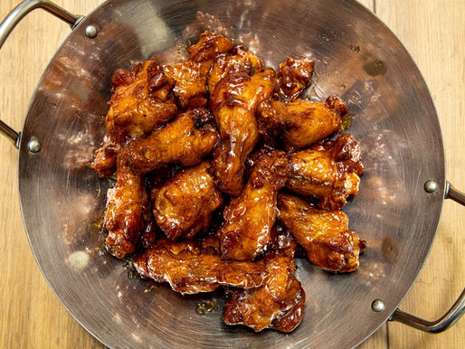 Come get your Sticky Asian Wings fix!