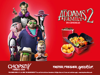 Get SpOOky At ChOpstix With The AddAms FAmily 2!