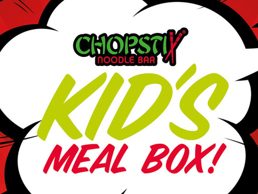 Chopstix introduces Kids' Meal Box