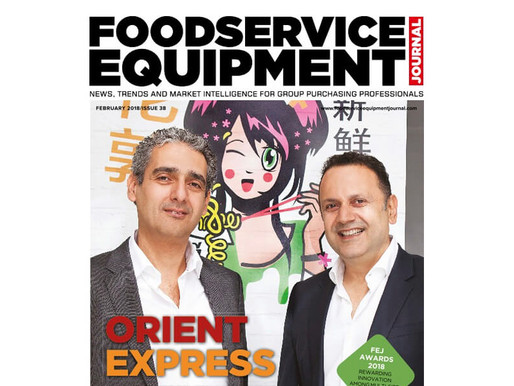 Chopstix gets its first industry cover!