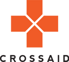 Crossaid logo with word 'crossaid'