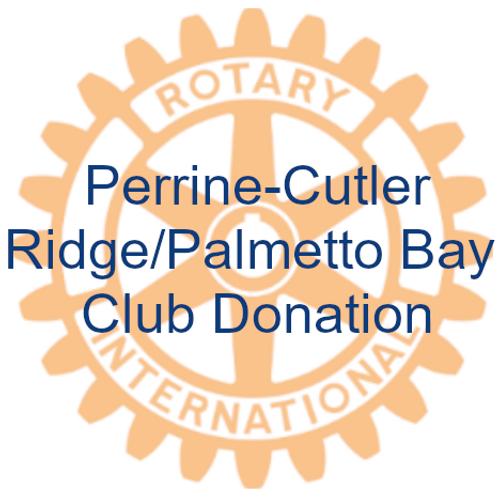 PCRPB Club Donation