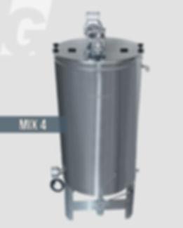 MIX4, αναδευτήρας θερμαινόμεος, δοχείο mixer, 400 kg, γεωργάκης, georgakis