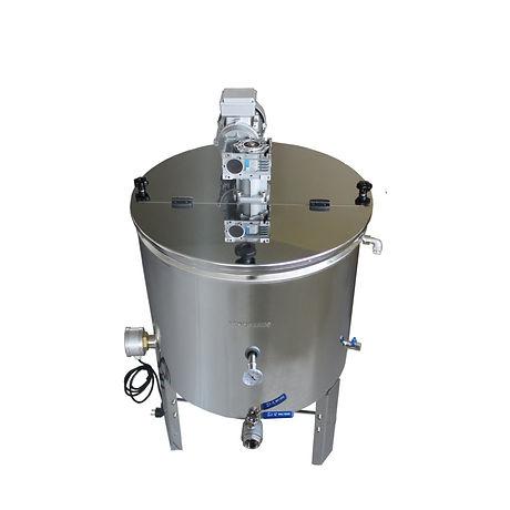 Αναδευτήρας - Ομογενοποιητής Μελιού 200 κιλών με κωνικό πυθμένα