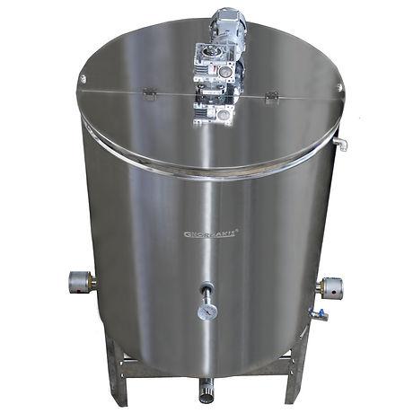 Αναδευτήρας - Ομογενοποιητής Μελιού 1000 κιλών με κωνικό πυθμένα