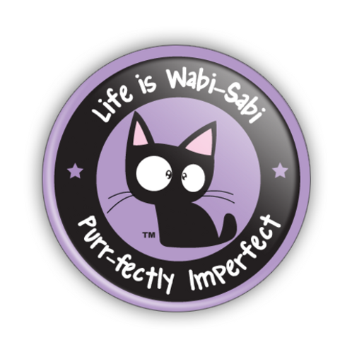 Life is Wabi-Sabi Logo Button