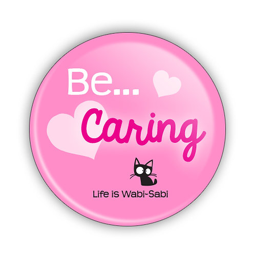 Be Caring Button