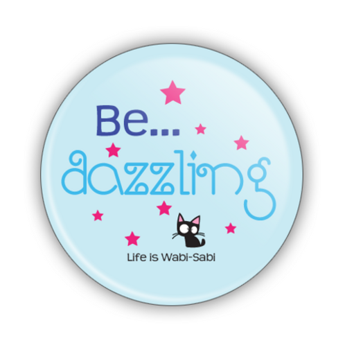 Be Dazzling Button