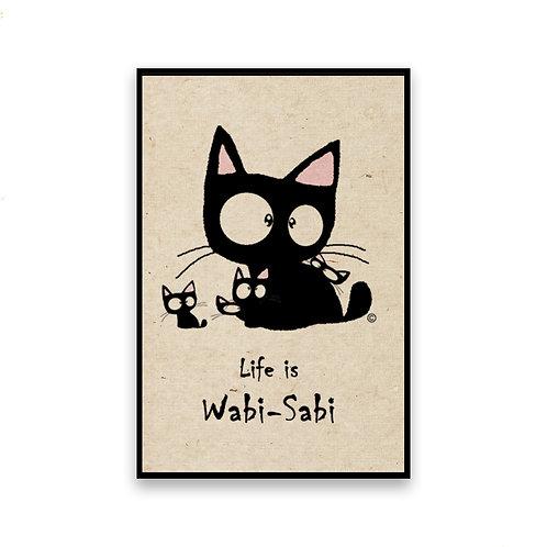 Family Cat Magnet
