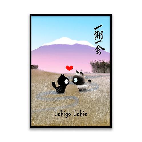 Ichigo Ichie - 5x7 Framed Art