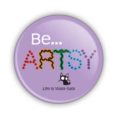 Be Artsy Button