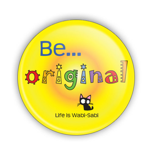 Be Original Button