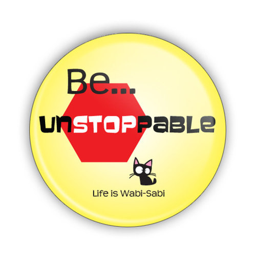 Be Unstoppable Button