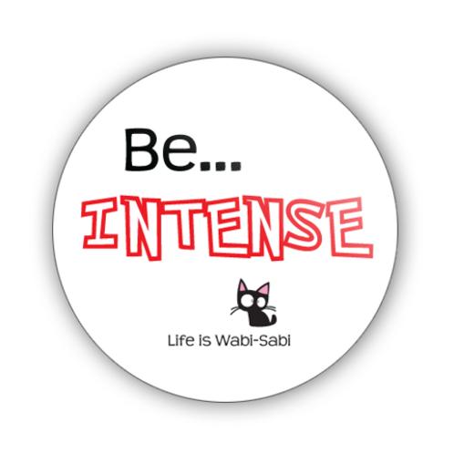 Be Intense Button