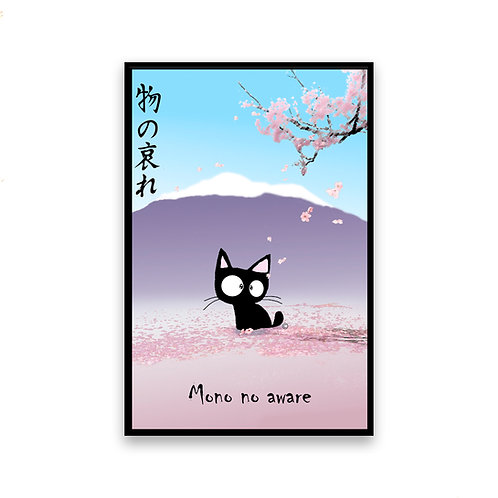 Mono No Aware Cat Magnet