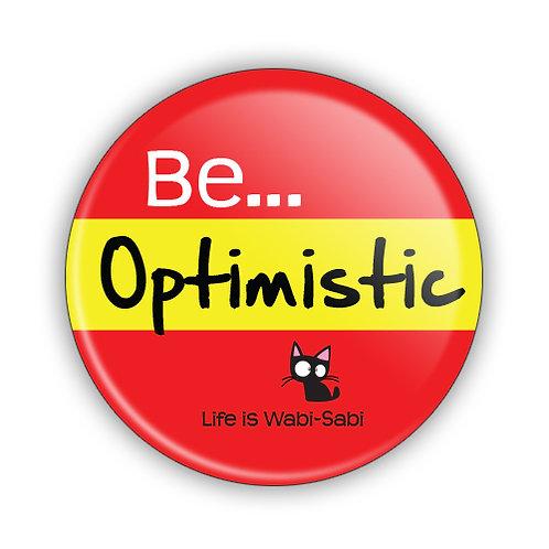 Be Optimistic Button