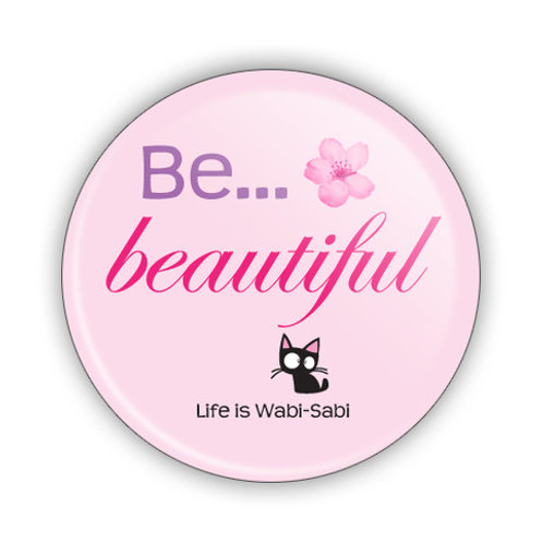 Be Beautiful Button