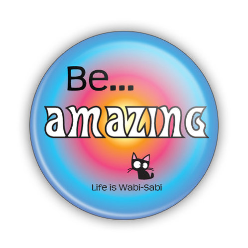 Be Amazing Button