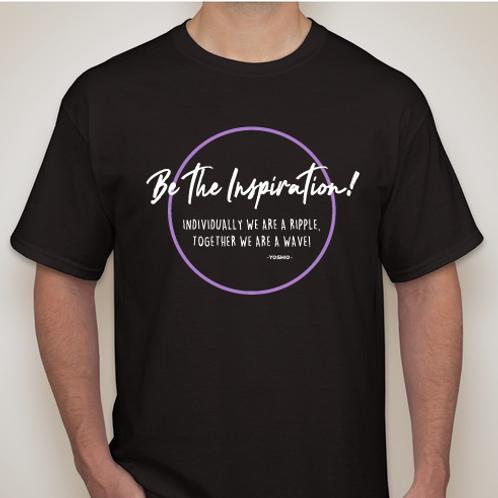 Be the Inspiration! - Men's/Unisex T-Shirt BLACK