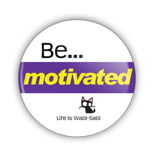 Be Motivated Button