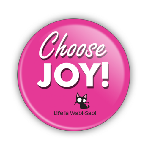 Choose Joy! Button