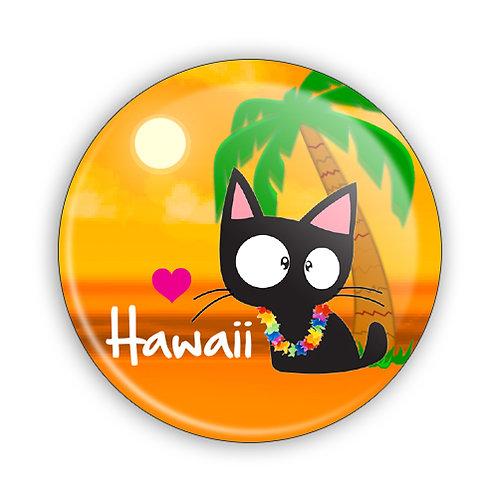 Love Hawaii Button