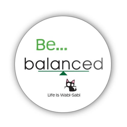 Be Balanced Button