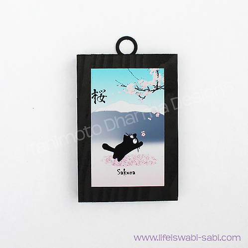 Sakura Cat - Boko Art