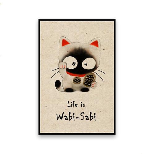 Maneki Neko Cat Magnet
