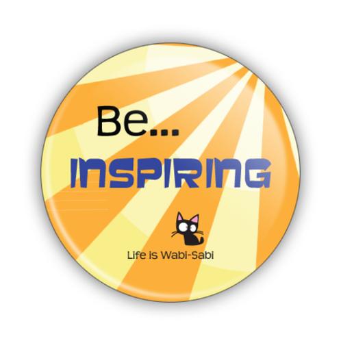 Be Inspiring Button
