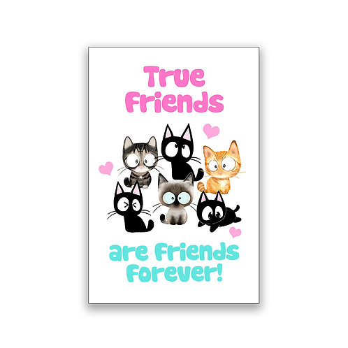 Friends Forever! Magnet