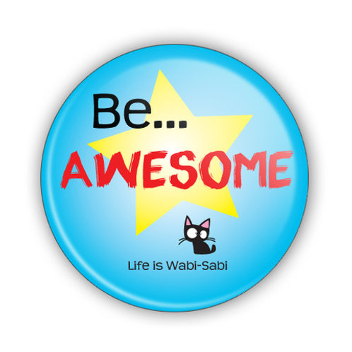 Be Awesome Button