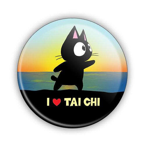 I Love Tai Chi Button