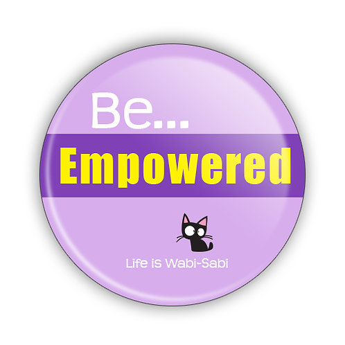 Be Empowered Button