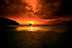 Cornwall_Portreath_Sunset_01