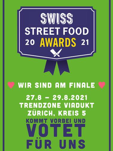 Swiss Streetfood Award Zürich, 27.8 - 29.8.2021