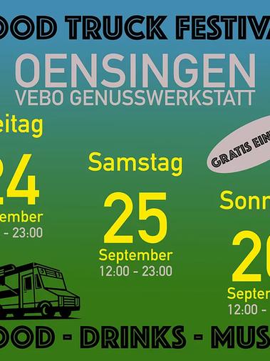 Foodtruck Festival Oensingen, 24.9 - 26.9.2021