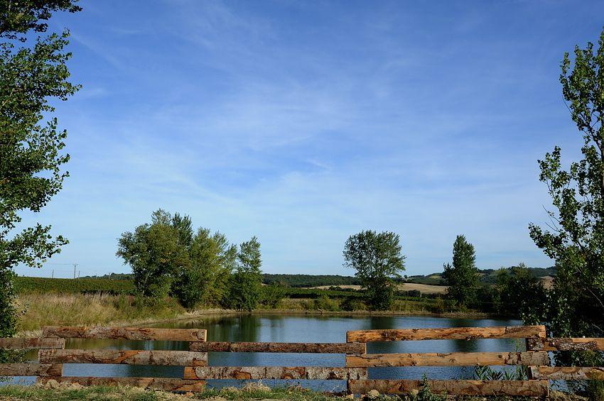 Le lac vu de la terrasse