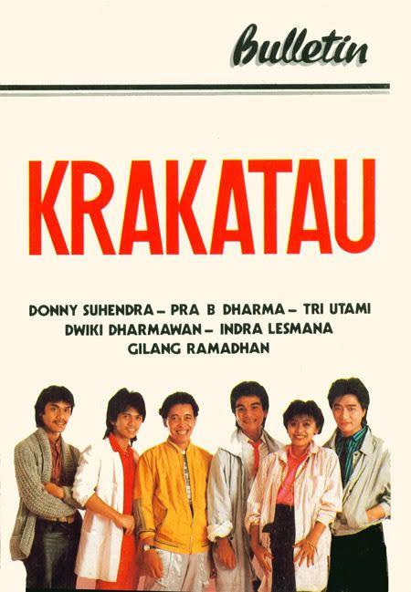 KRAKATAU FIRST ALBUM