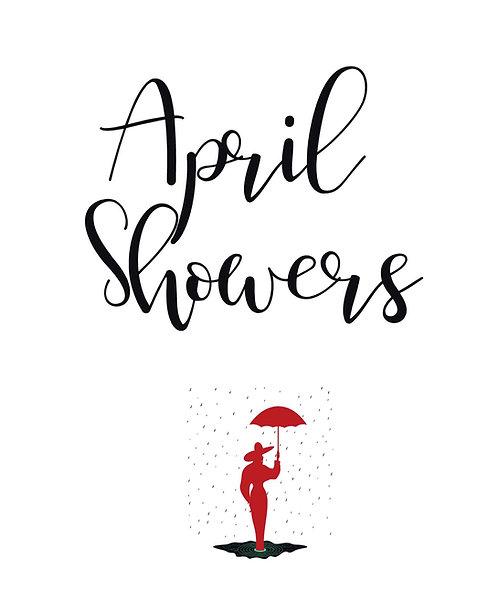 April Showers Paperback