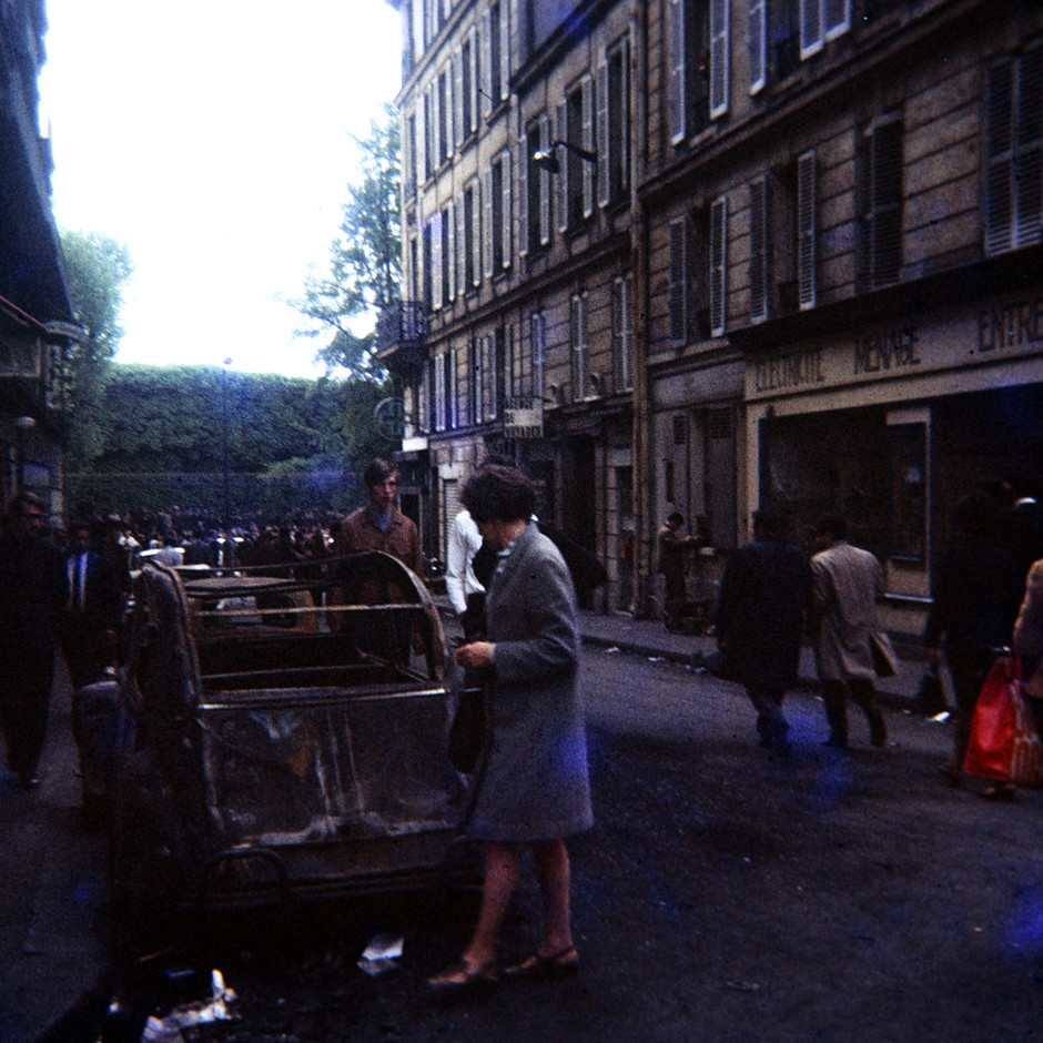 The Color of Paris: End of May '68