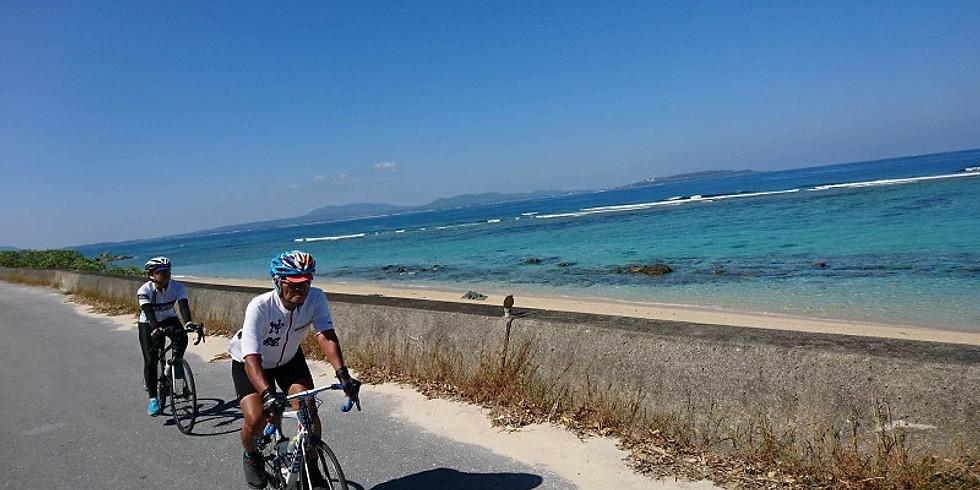 沖縄本島一周サイクリング400km  Tour of Okinawa 400