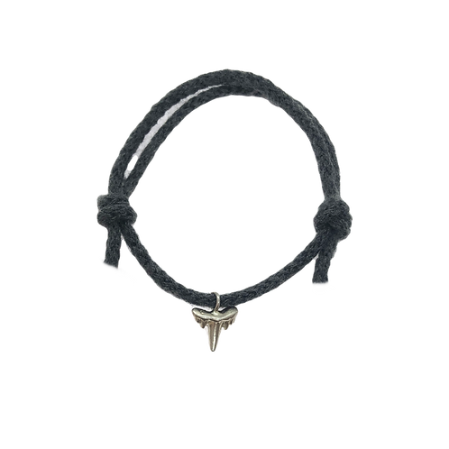 Shark Tooth Rope Bracelet